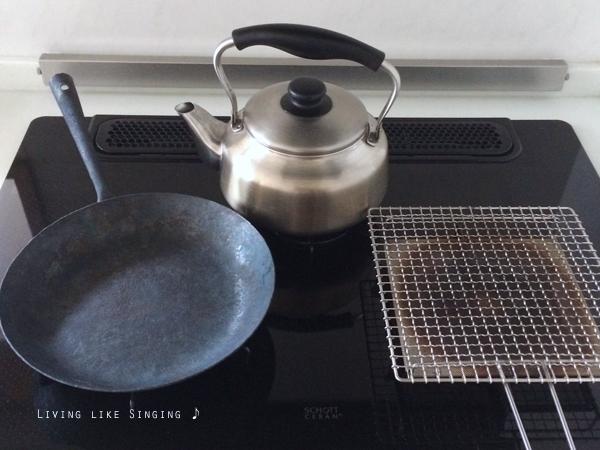 トースター代わり、焼き網の使い勝手